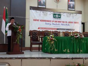 LP Maarif NU Jatim Rapat Koordinasi ke II tahun 2019 di buka Wakil Bupati Pasuruan