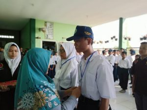 Gara-Gara LOS Siswa SMP Tunas Buana Surabaya Kenalkan Sekolah Mereka