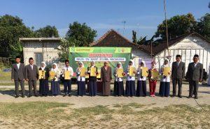 Tiga Lembaga Pendidikan Maarif NU, Upacara Penerimaan Siswa Baru Bersama-Sama