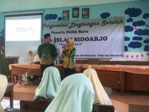 Akhiri MPLS, SMA Islam Sidoarjo Rekrut Siswa Baru Menjadi Anggota IPNU dan IPPNU