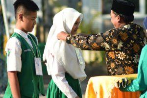 MTs Nurul Huda Sedati Gertak Siswa Baru