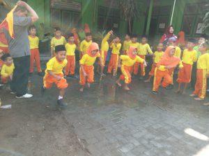 I Love Indonesia Menggema saat Lomba 17 an di Mulai