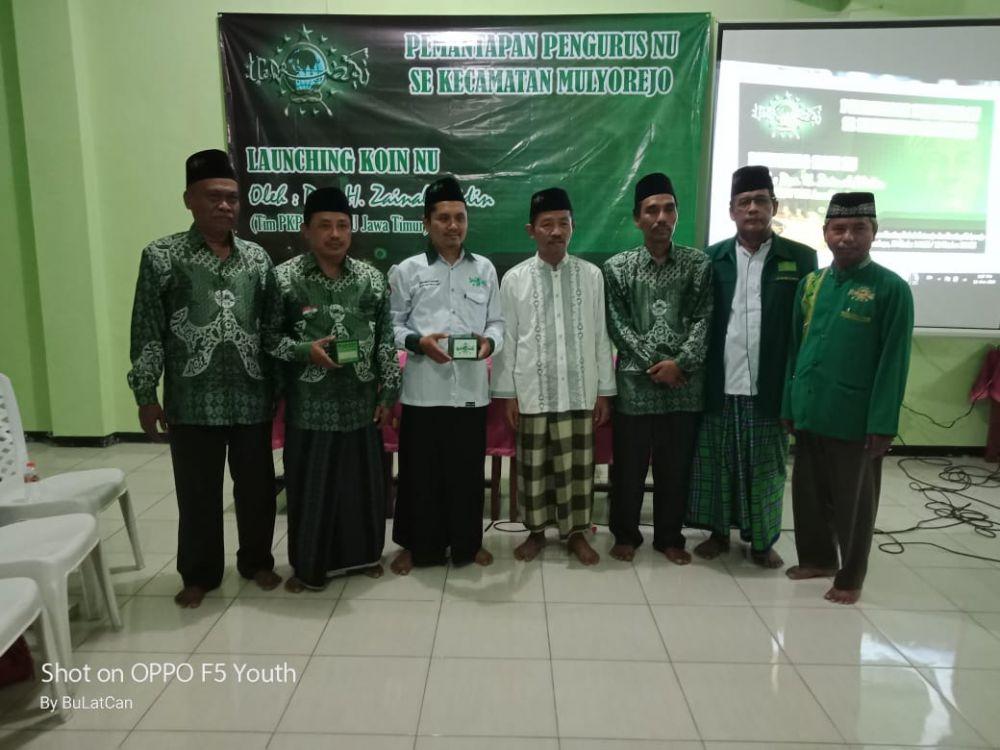 LP Maarif NU Sinergi dengan Lazisnu Kecamatan Mulyorejo
