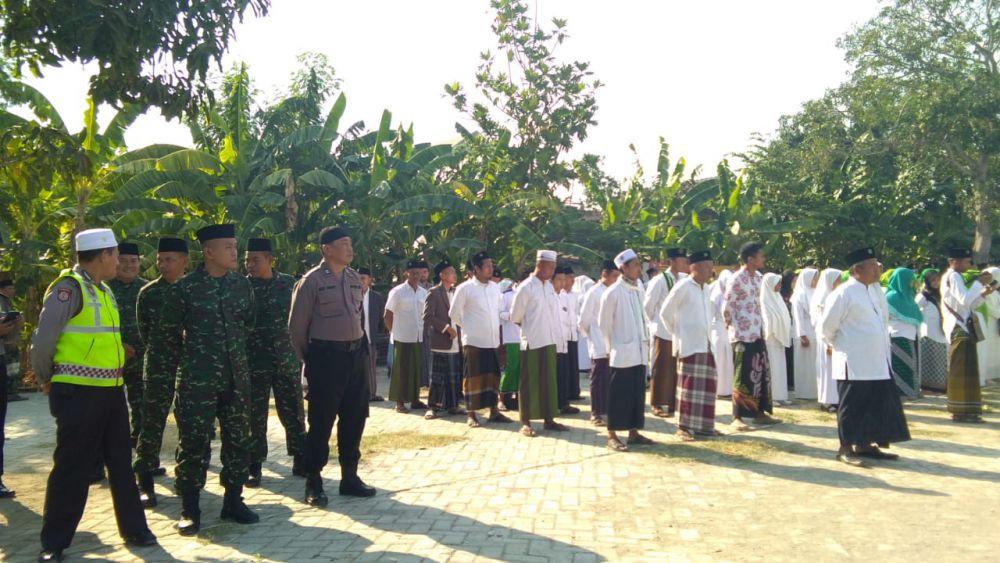 Upacara Bendera HSN 2019 Kecamatan Balen Bojonegoro.