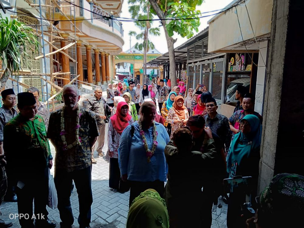 LP Maarif NU-Kedubes Australia Jadikan Sidoarjo Rujukan Madrasah Numerasi Nasional
