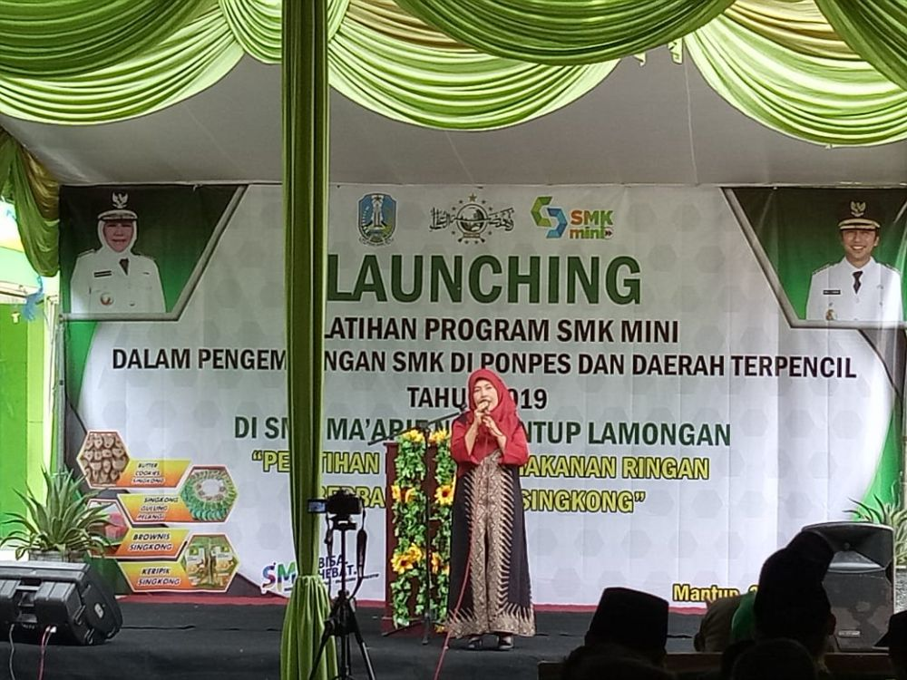 Launching SMK Mini, NU Mantup Siap cetak Enterpreneur Milenial