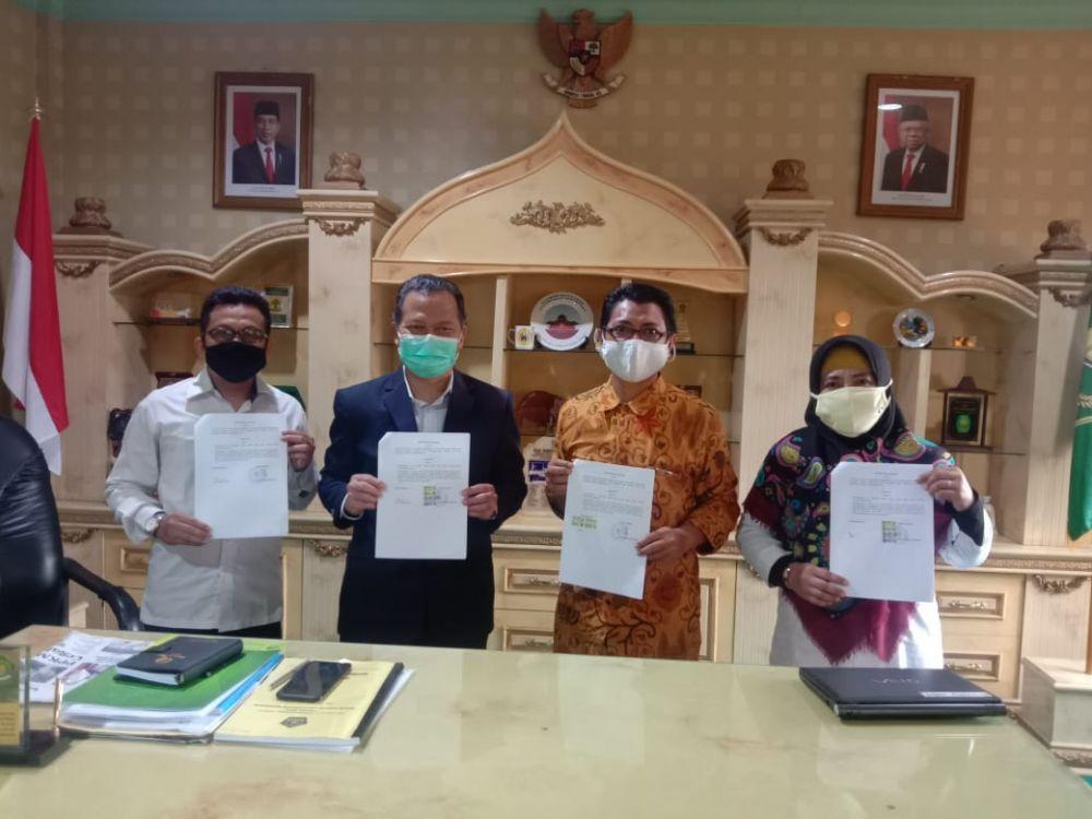 Diklat Kepala Madrasah Berlanjut Tahun 2021, LP Maarif NU Jatim Gandeng BDK Surabaya